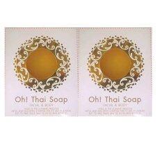 โปรโมชั่น Yingying สบู่กุ๊บกิ๊บ เคล็ดลับ หน้าเด็ก สวยใสไร้สิวของกุ๊บกิ๊บ สบู่ Oh Thai Soap 2 กล่อง