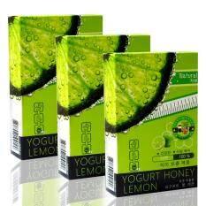 ซื้อ Yogurt Honey Lemon โยเกิร์ตน้ำผึ้งมะนาว อาหารเสริมลดน้ำหนัก ผลลัพธ์ยอดเยี่ยม 10 แคปซูล X 3 กล่อง