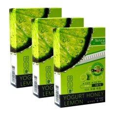 ราคา Yogurt Honey Lemon Korea อาหารเสริมลดน้ำหนักสูตรเกาหลี ทานได้ 1 เดือน ชุดโปรโมชั่นสำหรับ คนลดยาก ปลอดภัย ไม่โยโย่ 3 กล่อง 30 เม็ด ใหม่ ถูก
