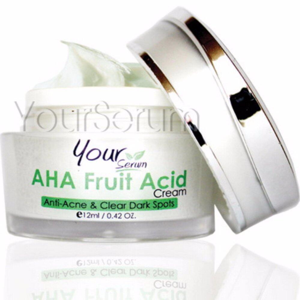 Sale Yourserum ครีมบำรุงหน้าขาวใส สำหรับผู้มีปัญหาสิวโดยเฉพาะ Aha Fruit Acid Cream ครีมยอดนิยมจาก  เกาหลี