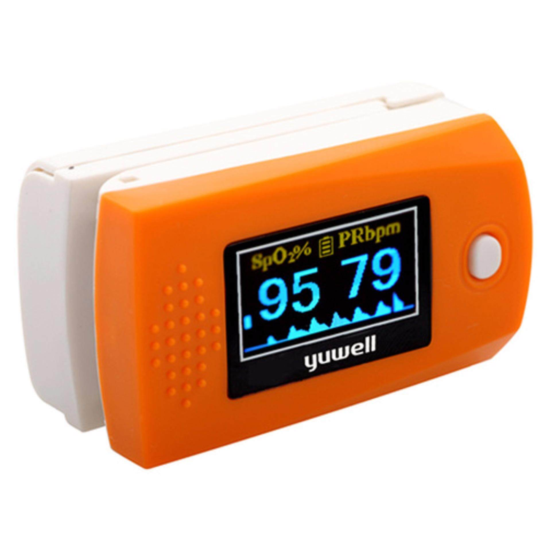 เครื่องวัดออกซิเจนในเลือดที่ปลายนิ้ว เครื่องวัดออกซิเจน วัดออกซิเจน Yuwell YX300 Fingertip Pulse Oximeter รับประกัน 1 เดือน สามารถออกใบกำกับภาษีได้