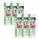 ซื้อ Zact ยาสีฟัน ขจัดคราบ แซคท์ สูตรสำหรับผู้ดื่มกาแฟ และชา กล่องสีเขียว 6กล่อง