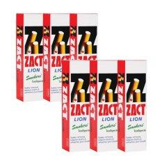 ซื้อ Zact ยาสีฟัน ขจัดคราบ แซคท์ สูตรสำหรับผู้สูบบุหรี่ กล่องสีแดง 6 หลอด ถูก กรุงเทพมหานคร