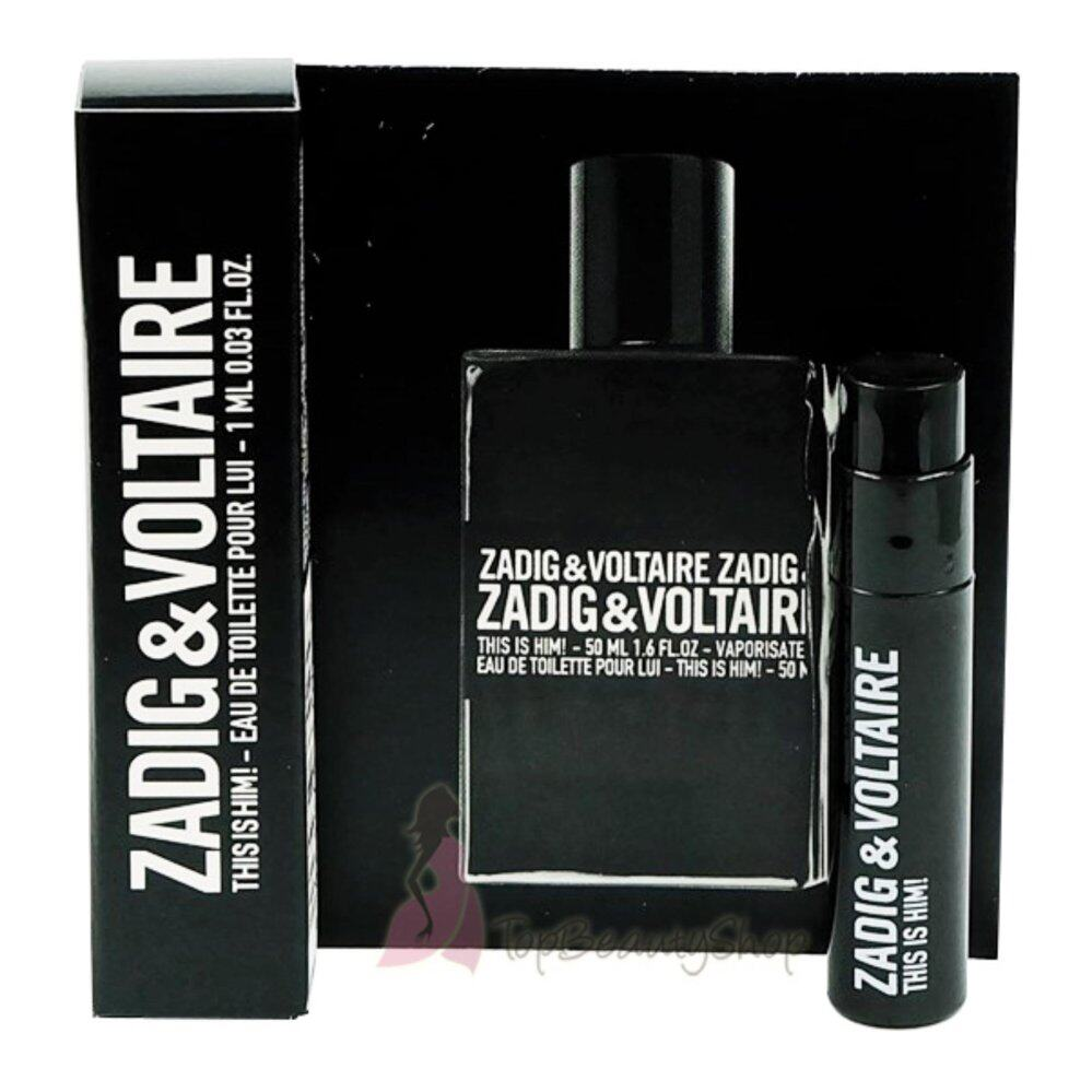 ZADIG & VOLTAIRE This is Him! EDT 1 ml.