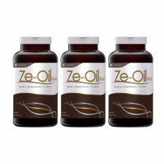 ขาย Ze Oil Gold น้ำมันสกัดเย็นจากธรรมชาติ ขนาด 300 เม็ด จำนวน 3 ขวด ใหม่