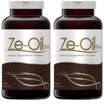 Ze-Oil Gold ซี-ออยล์ 300 Capsule x 2 Bottle-