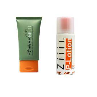 ZiiiT Power Mud  40g. + ZiiiT P-Lotion  50 ml.