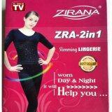 ราคา Zirana ชุดกระชับสัดส่วน อินฟราเรด รุ่น Megadot Infrared Big Size Zra 2In1 สีเนื้อ ที่สุด