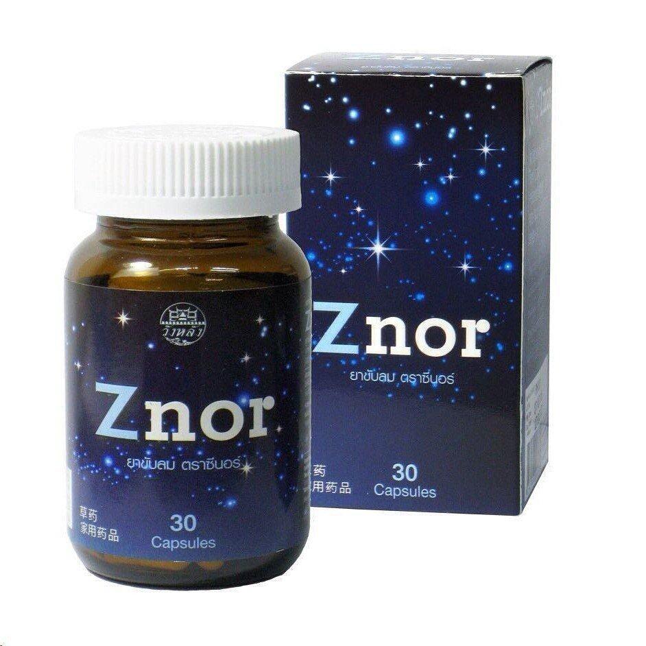 แนะนำ Znor ซีนอร์ 30 Capsules (1กระปุก)