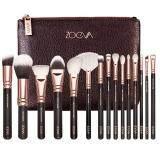ส่วนลด สินค้า Zoeva 15Pcs Cosmetic Brushes Foundation Brush น้ำตาล 1ชิ้น