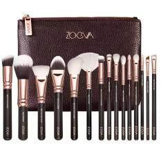 ราคา Zoeva 15Pcs Cosmetic Brushes Foundation Brush น้ำตาล 1ชิ้น ที่สุด