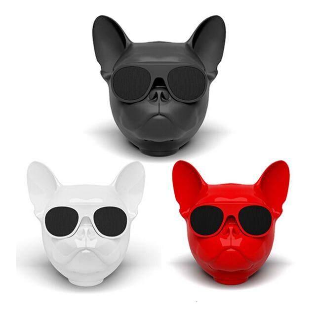ลำโพงบลูทูธ หมา Bulldog มีรีวิว ลำโพง Bluetooth Speaker ลำโพงพกพา อุปกรณ์เสริมมือถือ บลูทูธ ลำโพง Speaker.