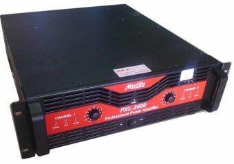 Modifyเพาเวอร์แอมป์ เครื่องขยายเสียง รุ่น PXL-2400 - สีแดง
