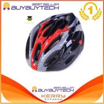 Buybuytech bike helmets ปรับได้ หมวกกันน็อกขี่จักรยาน หมวกจักรยาน  -