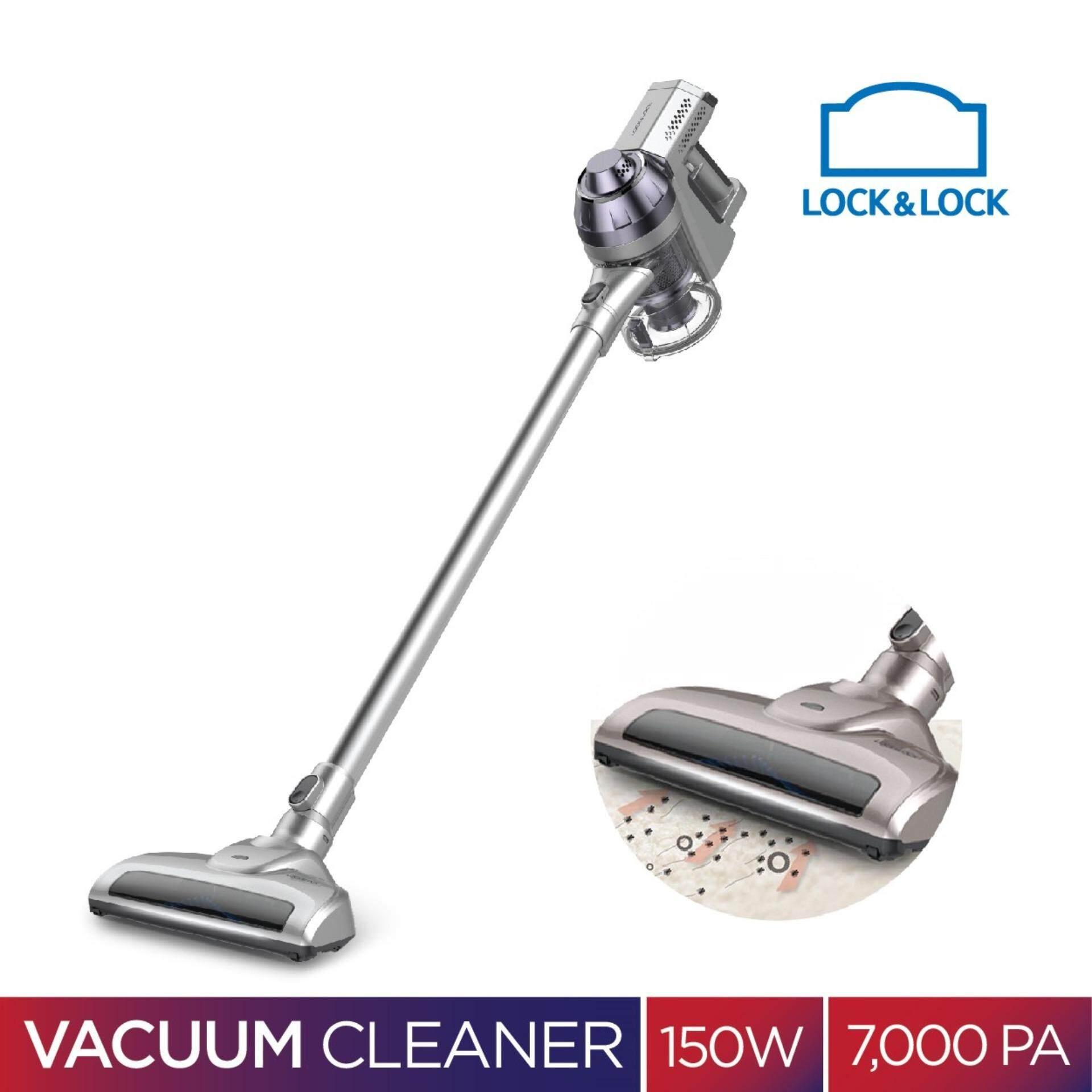LOCK&LOCK Cordless Vacuum Cleaner เครื่องดูดฝุ่นไร้สาย น้ำหนักเบา ขนาด 150 วัตต์ 100-240 โวลต์ รุ่น ENV111