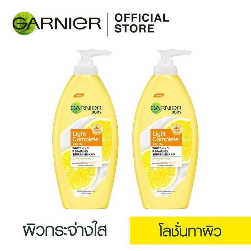 Bestselling : การ์นิเย่ เอ็กซ์ตราไลท์ ไวท์เทนนิ่ง รีแพร์ริ่ง มิลค์ โลชั่น แพ็กคู่ 400 มล. X 2 Garnier Lightextra Whitening Repairing Milk Lotion 2 Pack 400 Ml X 2 Bright(โลชั่นผิวขาว_โลชั่นบำรุงผิว) By Garnier(thailand).