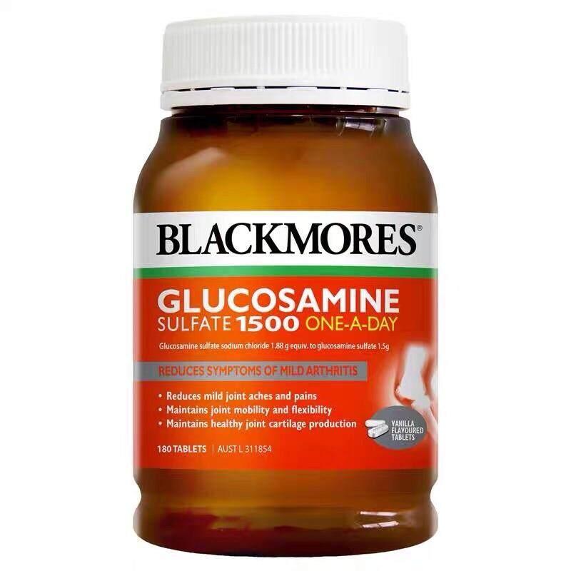 Blackmores Glucosamine 1500 กลูโคซามีน180เม็ด บำรุงกระดูก