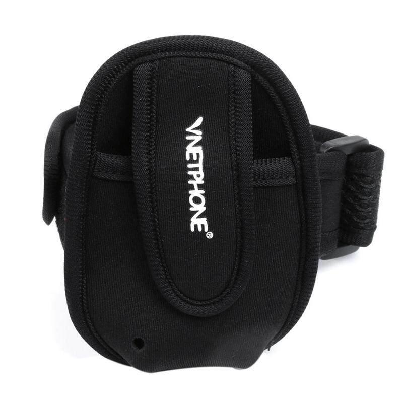 VNETPHONE Portable Rider Walkie Talkie Arm Bag For Helmet Walkie Talkie Headset Referee Arm Bag Walkie Talkie Bag
