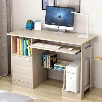HappyTown+Easylivinghomestoreโต็ะA04s-1mโต๊ะคอมพิวเตอร์ โตะทำงาน โต๊ะสำนักงาน พร้อมชั้นวางหนังสือโต๊ะcomputerโต๊ะคอมโต๊ะโต๊ะวางของโต๊ะทํางาน โต๊ะสวยๆ ชั้นวางของ โต๊ะเขียนหนังสือ โต๊ะไม้ โต๊ะคอมเกมมิ่ง-