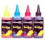 ขาย Lasuprint หมึกเติม Brother Inkjet Refill ขนาด 100Ml แพ็คสุดคุ้ม 4 สี B C M Y ออนไลน์
