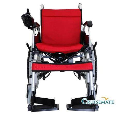 รถเข็นไฟฟ้า เก้าอี้รถเข็นไฟฟ้าพับเก็บ เคลื่อนย้ายได้รุ่น Cm-102 ทำงาน 3 ระบบ ควบคุมการทำงาน Joystick ได้ 360 องศา.