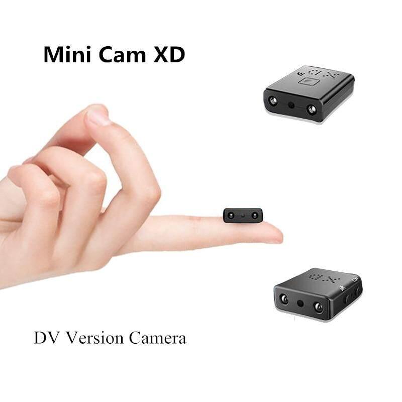กล้องจิ๋วขนาดเล็ก กล้องขนาดเล็กที่เล็กที่สุด 1080p Full Hd กล้องอินฟราเรด Night Vision Micro Cam ตรวจจับการเคลื่อนไหว Ir-Cut Dv รองรับการ์ด Tf ซ่อน Mini Camera กล้องซ่อนไร้สาย Mini Tiny Camera กล้องกีฬา.