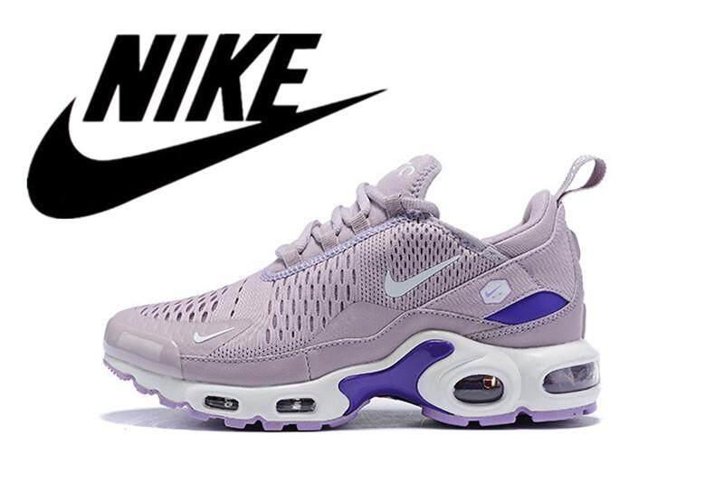 new arrival 88bfa 76750 Nike Air Max Plus TN woman Air Cushion Shoes Running Shoes Mesh Breathing  Violet 36-40