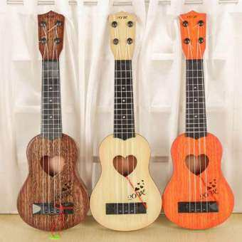Musical Instrument Mini Ukulele Kids Guitar Toys Creative School Play Game Color Random-
