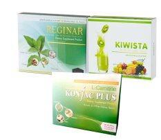ซื้อ Reginar Konjacplus Kiwista Detox ผลิตภัณฑ์อาหารเสริม ลดน้ำหนัก 3 อย่าง ออนไลน์ ถูก