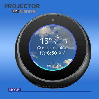 Smart Display with Alexa Echo Spot Black