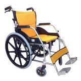 ซื้อ Easy4U รถเข็นผู้ป่วย อัลลอยด์เปลี่ยนเบาะได้ 22 นิ้ว สีเหลือง Easy4U เป็นต้นฉบับ