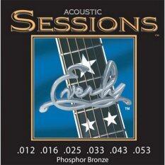 ซื้อ Everly สายกีตาร์ โปร่ง รุ่น Sessions 12 53 ใน ไทย