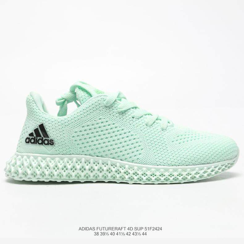 new arrival 28705 5561e Adidas_ x Daniel Arsham Futurecraft Joint 4D printed men's running shoes  BD7400 Futurecraft 4D Sup Black 4D cushioning clover sports shoes