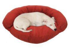 ราคา New Brand เบาะนอนน้องหมาหนังเทียมทรงโซฟา สีแดง ที่สุด