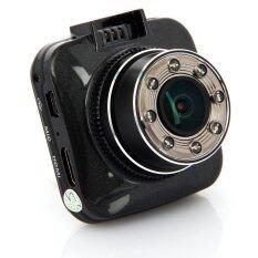 "Gateway กล้องติดรถ G55 Full HD 1080P 2.0"" LCD G-sensor H.264 WDR 8 IR G55 - Black"