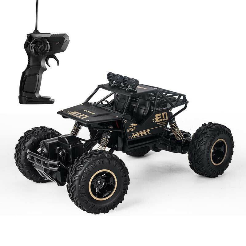 รถบังคับวิทยุ สามารถชาร์จแบตได้ Remote Control Rc Cars Rock Crawler Monster Truck.