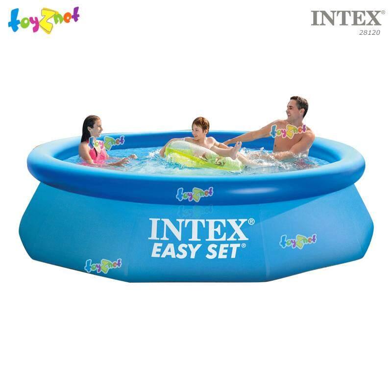Intex ส่งฟรี สระน้ำ อีซี่เซ็ต 10 ฟุต (3.05x0.76 ม.) รุ่น 28120 By Suriyong Trading Ltd., Part..