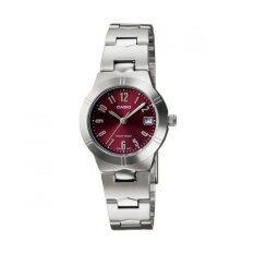 ขาย ซื้อ Casio นาฬิกาผู้หญิง สายสแตนเลส รุ่น Ltp 1241D 4A2Df Red ใน Thailand