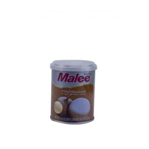 มาลี ลำไยในน้ำเชื่อม ขนาด 8.25 ออนซ์ผลไม้กระป๋องข้าวธัญพีชอาหารกระป๋องและอาหารแห้ง