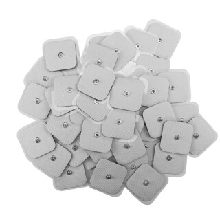 50Pcs Tens Electrodes Electrode Pad for Self Adhesive Electrode Patches for TENS Therapy Machines Physiotherapy thumbnail