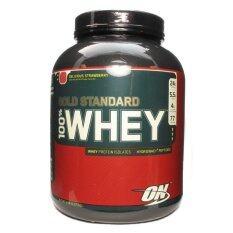 ซื้อ Optimum Whey Protein Gold 5 Lbs Delicious Strawberry ออนไลน์ กรุงเทพมหานคร
