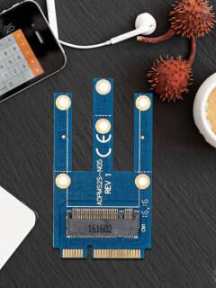 Thẻ Chuyển Đổi Pci-e Sang NGFF Mini Cho Máy Tính Xách Tay, Mô-đun Bluetooth Card Mạng Không Dây Pcie M.2 Đến Mini thumbnail