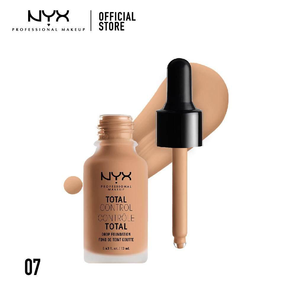 รองพื้นหัวดรอปเกลี่ยง่าย นิกซ์ โปรเฟสชั่นแนล เมคอัพ โทเทิล คอนโทรล ดรอป ฟาวเดชั่น NYX Professional Makeup Total Control Drop Foundation - TCDF07 (รองพื้น)