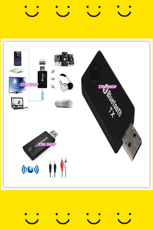 Yet-Tx9 แปลงเสียงเพลง/หนัง/ทีวี เป็นสัญญาณบลูทูธเพื่อเชื่อมต่อกับเครื่องเสียงผ่าน Usb Usb Bluetooth Music Transmitter Tv Pc Audio Transmitter Converter.