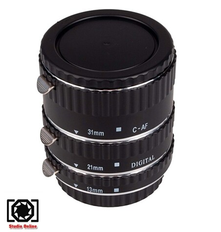 Meike Macro Af Extension Tube Set For Canon.