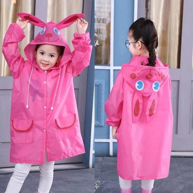 เสื้อกันฝนเด็ก ชุดกันฝนเด็ก ลายการ์ตูน ผ้าดี สุดการ์ตูนน่ารัก สำหรับเด็ก 2ขวบ -5ขวบ ( 1ตัว ).