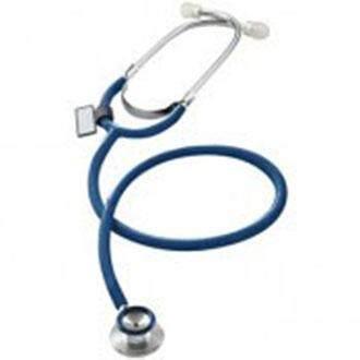 Mdf หูฟังทางการแพทย์ Stethoscope Duet 747e10 ( สีน้ำเงิน) By Nkhc.