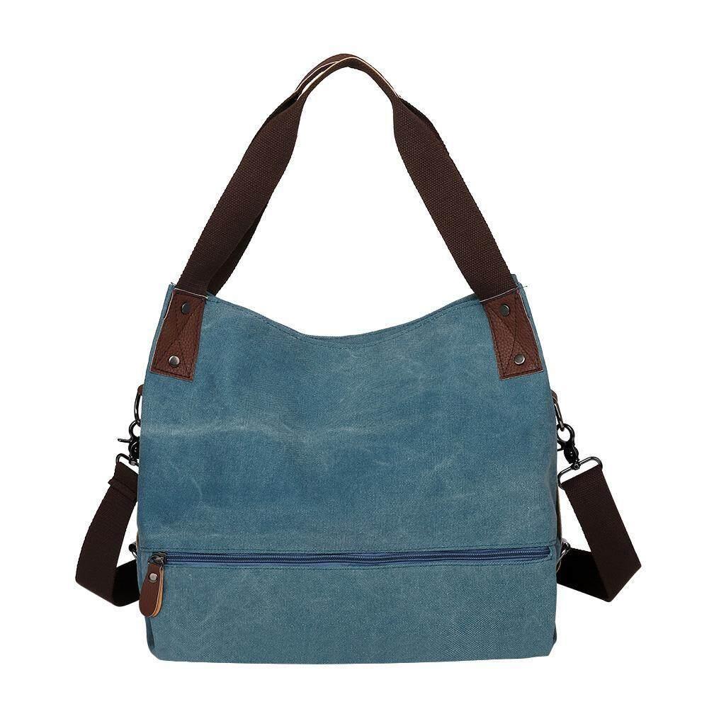 6d2c0f0f40f Large Canvas Shoulder Handbag Women Totes Vintage Crossbody Messenger Bags