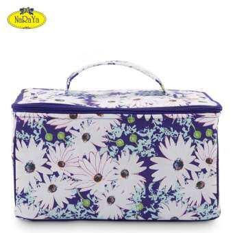 กระเป๋าเครื่องสำอางขนาดใหญ่ NaRaYa Daisy Collection-
