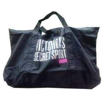 กระเป๋าเดินทาง VICTORIA SECRET SPORT (BLACK/PINK) กระเป๋าสัมภาระ กระเป๋าสะพายข้าง กระเป๋าแฟชั่น กระเป๋าแฟชั่นผู้หญิง กระเป๋าใส่ออกกำลังกาย กระเป๋าเสริมขึ้นเครื่อง กระเป๋าใหญ่สะพายข้าง-